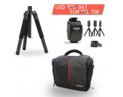 PIXIO with tripod and bag discount