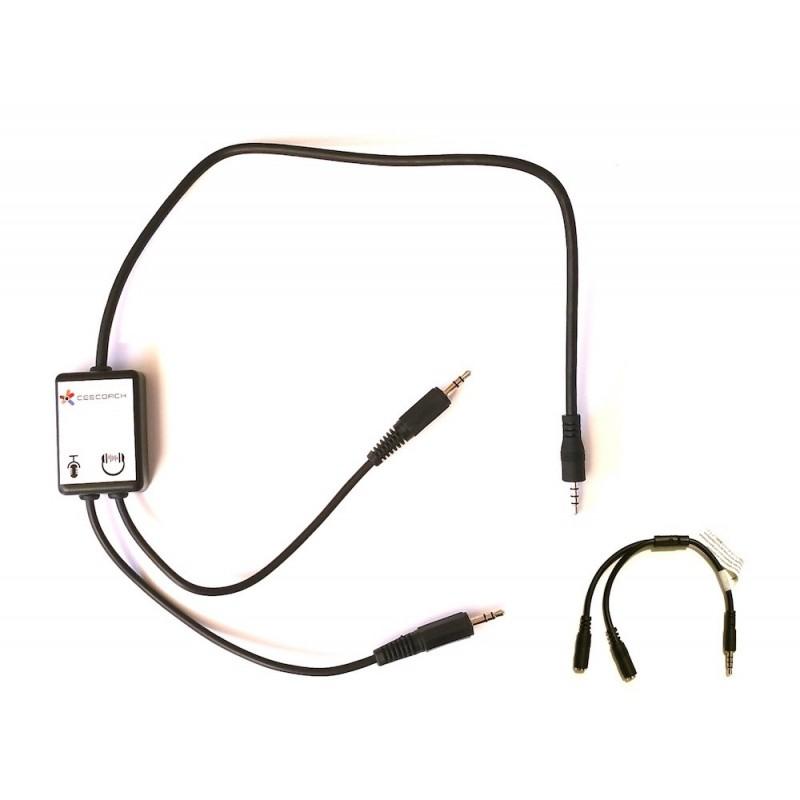 Câble de connexion du CEECOACH avec un ordinateur