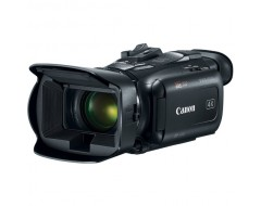 Le pack comprend le robot caméraman PIXIO, un trépied, une caméra CANON HF G50 et un câble LANC