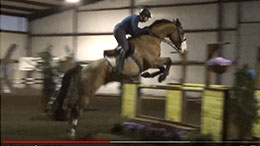 Filmed by PIXIO: Karim Lahlou training with his horse TooMuch