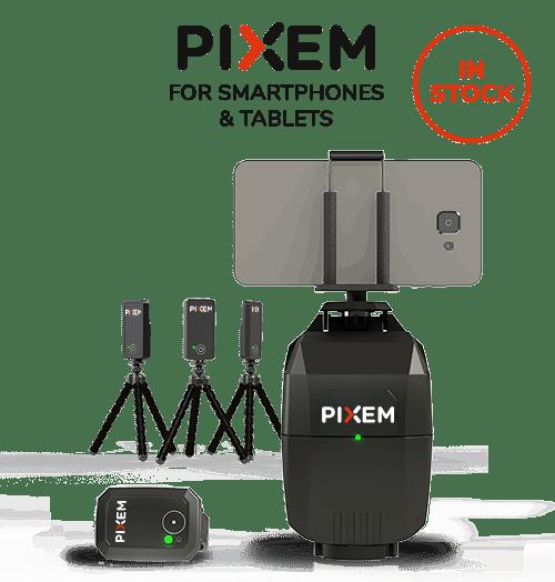 PIXEM, le robot cameraman pour téléphone et tablette