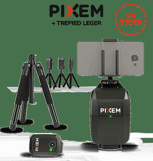 Pack robot cameraman PIXEM + trépied