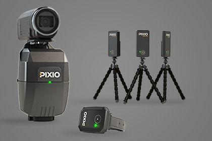 PIXIO robot cameraman range
