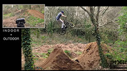 PIXIO films BMX tricks
