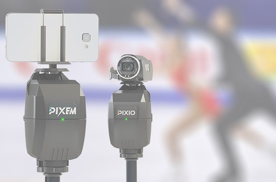 Use PIXIO with a camera or PIXEM with a smartphone / tablet