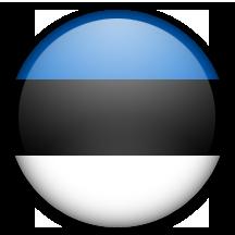Flag estonie