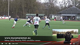 HOCKEY: Waterloo Ducks vs Heraklès 28 02 16 filmed by Pixio