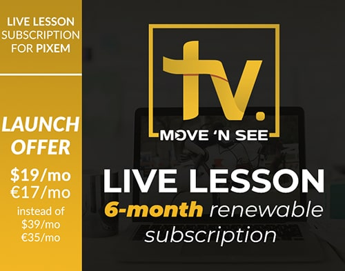 LIVE LESSON: 6-month renewable subscription