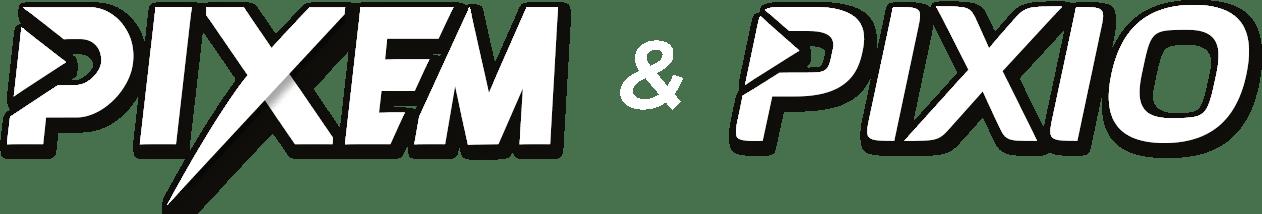 PIXIO and PIXEM logos