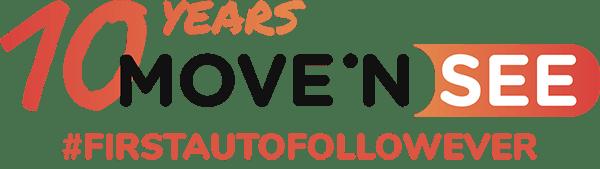 MOVE 'N SEE 10th anniversary logo