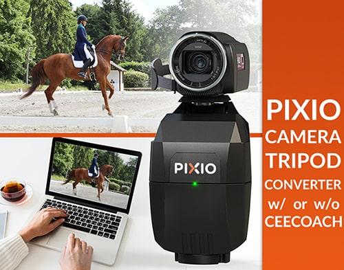Ce pack comprend un robot caméraman PIXIO plus tous les accessoires nécessaire pour faire du live coaching