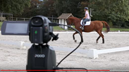 Dressage filmed with PIXIO, By Pamfou-Dressage