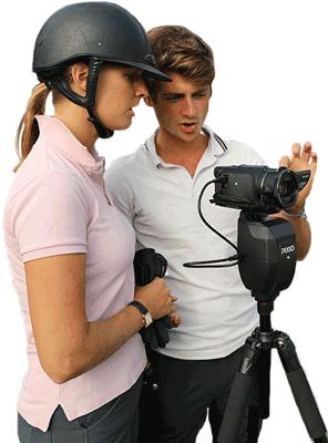 Pamfou-dressage team, International riders and 5* international judge, PIXIO users