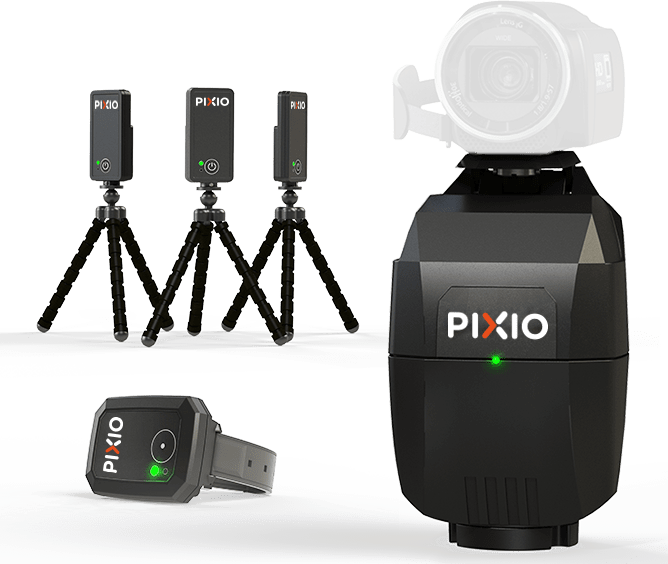 PIXIO robot caméraman