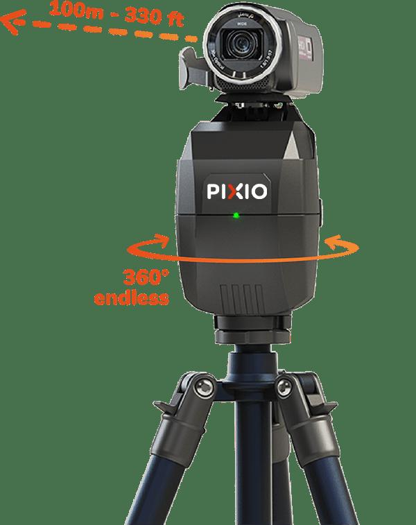 PIXEM & PIXIO your indoor and outdoor robots cameramen