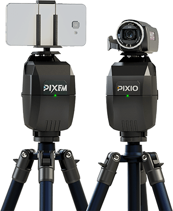 film yourself wit a robot camera PIXIO or PIXEM