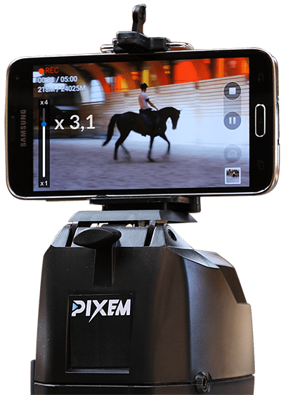 PIXEM the robot camera with a zoom automatic