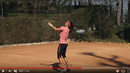 PIXIO films Laura THORPE Tennis Champion
